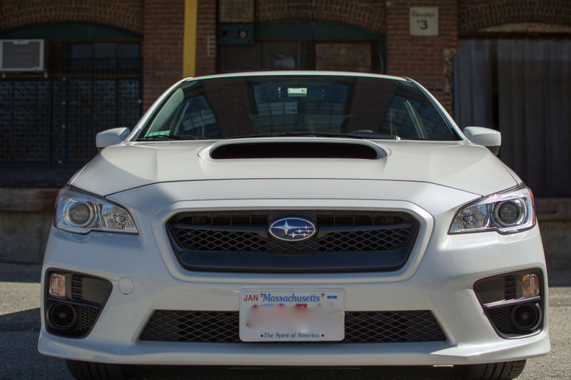 2017 Subaru WRX Car Day Front View Land Vehicle Luxury Mode Of Transport No People Transportation White Crystal Pearl