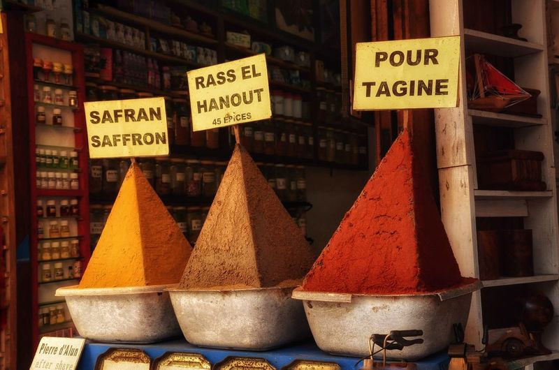 Morrocan spices .. Spices Spices Of Morroco For Sale Market Markets Hanging Out Taking Photos Colors Color Photography Morrocobeauty Market Street Paprika Seasoning Paprika Medina Essaouira Medina Streetphotography Curcuma Gastronomy Colorful Red Yellow EeYem Best Shots