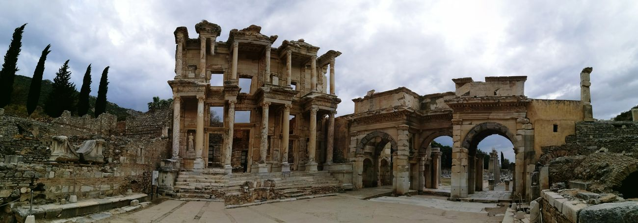 Amazing View Architecture Roman History Turkey Exciting Ephesus - Turkey Greek History Helenistik Wonderful View Ephesus Ephesuslibrary Ephesus Ruins