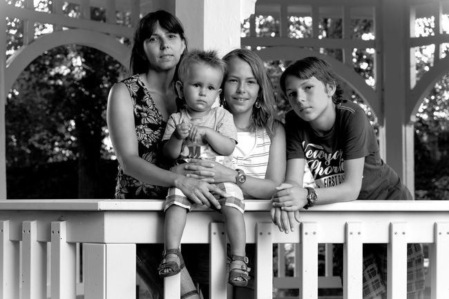 Familienfoto Kinder Family Familie Happy Familie
