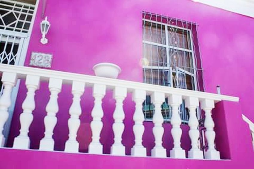 Eye4photography  Hello World South Africa Ilovecapetown Travel Photography Bo-kaap This Week On Eyeem Pink