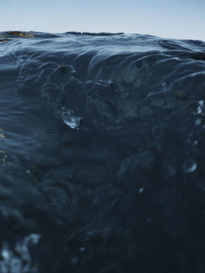 Close-up of wave