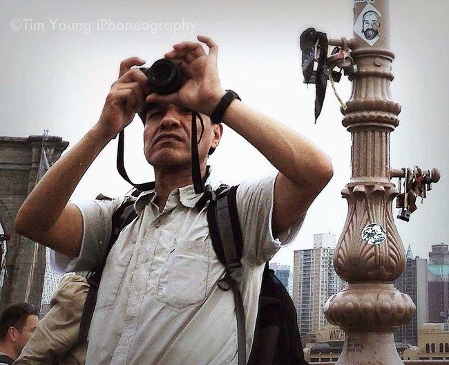 Photographer Tourist Timyoungiphoneography Brooklyn Bridge / New York