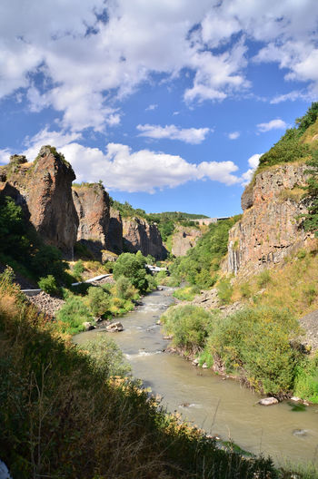 Armenia September Arpa Beauty In Nature Canyon Arpa Cloud - Sky Day Direction Environment Growth Land Landscape Mountain Nature No People Non-urban Scene Outdoors Rock Scenics - Nature Sky Tranquil Scene Tranquility Travel Destination W-armenien Waterfall
