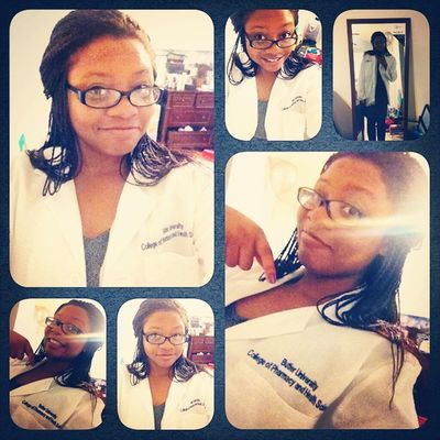 Officially got my white coat Whitecoatceremony Official Pharmlife