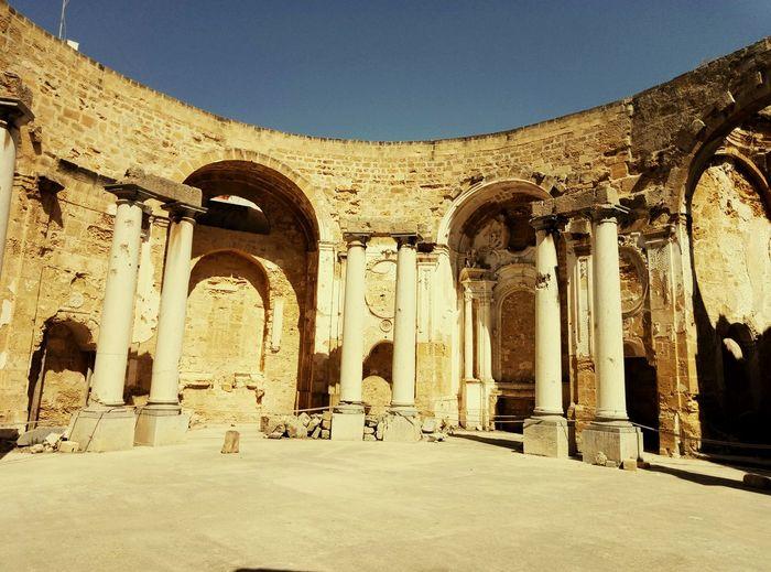 EyeEm Selects Binate Columnus Circle Church Of Sant Ignazio Church Architecture Destruction Earthquake