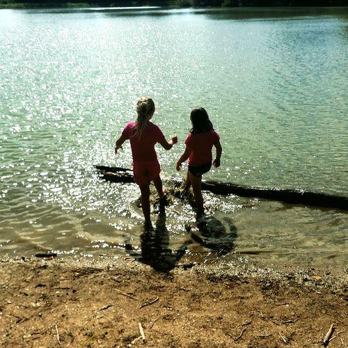 First Eyeem Photo Children Playing Waterfront Outdoors Kids Playing Water Splashing Kids Having Fun Kids Of EyeEm