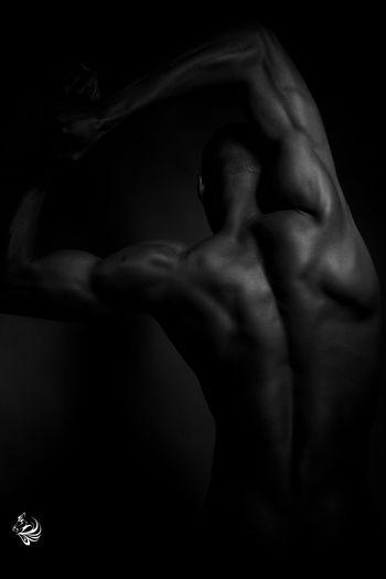 Inner strength Portrait Blackandwhite