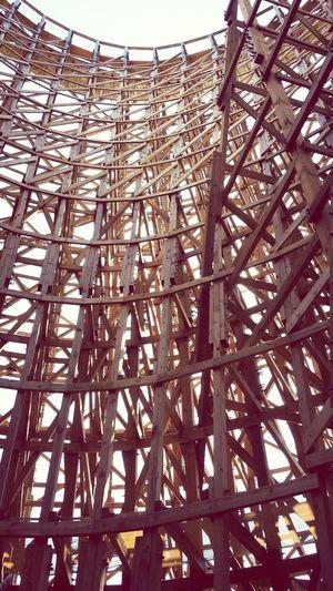 Timber Roller Coaster Joy Ride