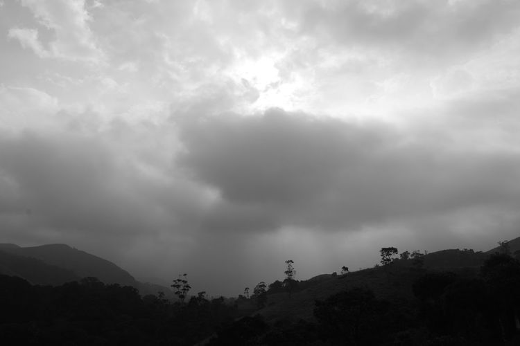 Nature Landscape Dramatic Sky Storm Cloud Mountain Cloud - Sky No People Forest Outdoors Thunderstorm Beauty In Nature Storm Sky Forest Fire Day Miles Away Welcome To Black