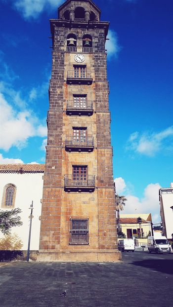 Sky Tower Travel Destinations Clock Tower Architecture History Built Structure City Tenerife Island La Laguna Canary Islands Canarias EyEmNewHere EyeEmNewHere