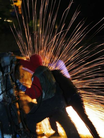 Capture The Moment Fire Sparkles Night Night Of Museums Serbia Novisad