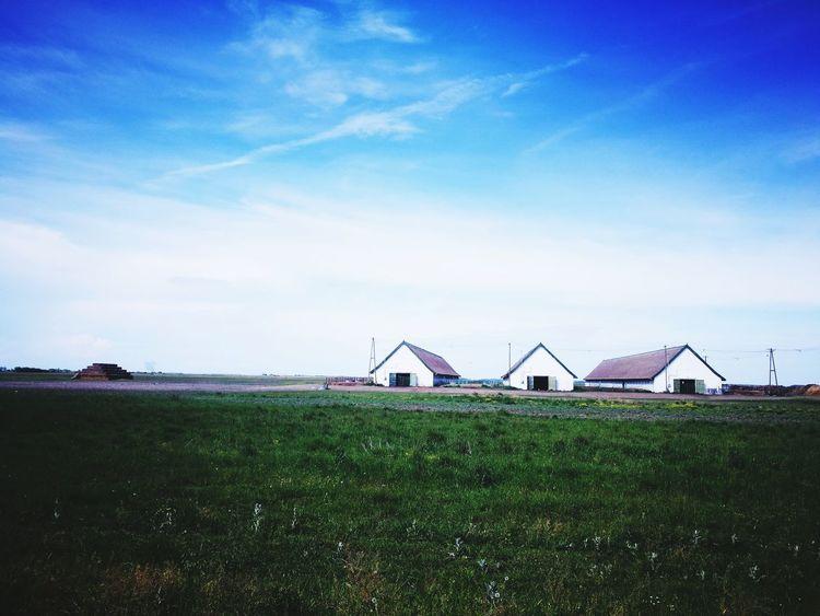 Sky Barn Outdoors No People Rural Scene Architecture Hortobagy National Park Puszta