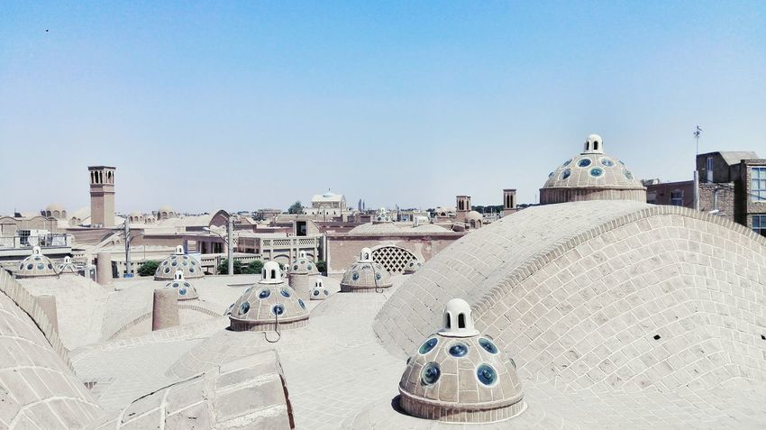 Sand Outdoors Sky No People Rooftop Iran Irantravel Kashan Persian Baths Travel