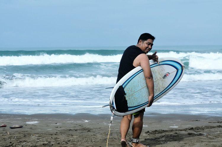 Its Me! Surfing @ Pangandaran Beach INDONESIA Enjoying Life