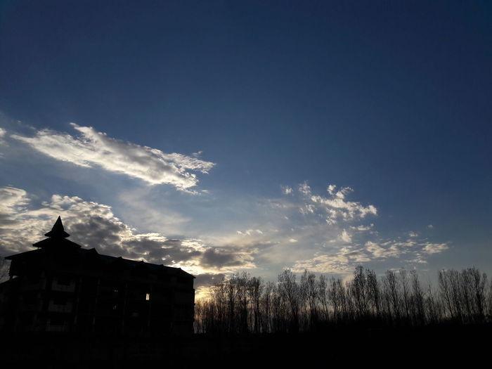 Silhouette of sky