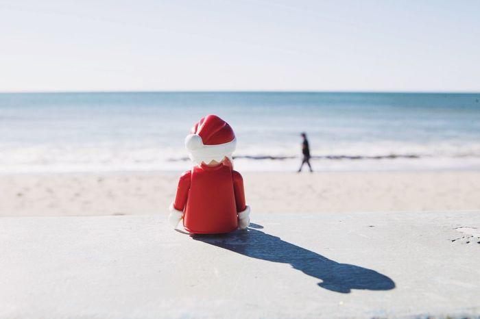 My other job Toy Photography Playmobil Santa Day Off Open Edit Santa Monica Color Portrait Beach Enjoying Life The Moment - 2015 EyeEm Awards Christmas Around The World Los Angeles, California