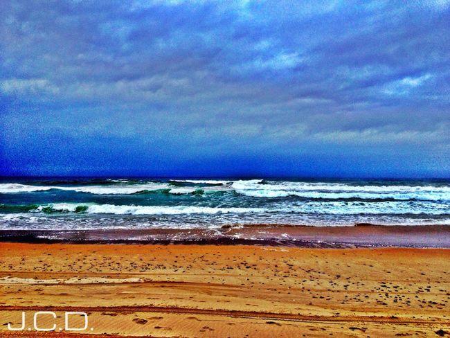 Relaxing Beach Sunset HDR