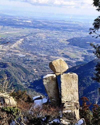 Rock 御在所岳 奇岩 地蔵岩