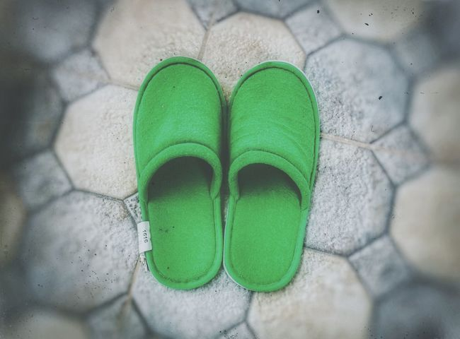 Green Color Close-up Outdoors No People Nature Day Slippers P9LitePhilippines Huaweiphotography Lieblingsteil