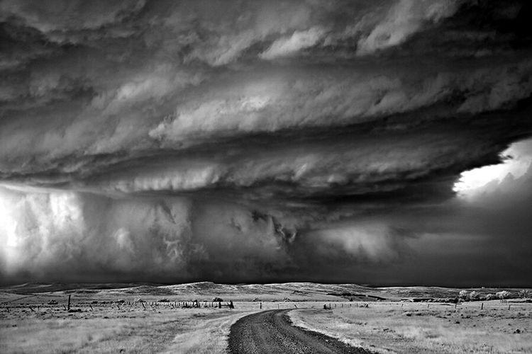 Strom Clouds Storm Tornade