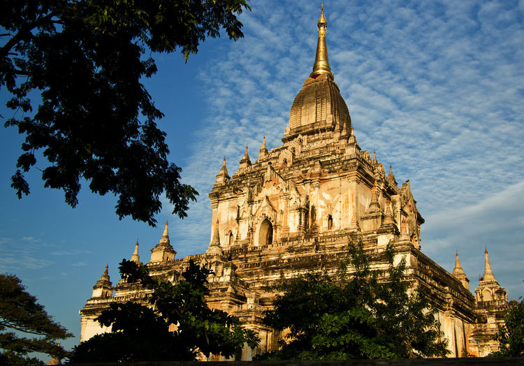 Tourist Attraction  World Heritage Ancient Civilization Architecture Bagan, Myanmar Buddhism Buddhist Temple Building Exterior Built Structure Burma Day History No People Outdoors Place Of Worship Religion Sky Spirituality Travel Destinations