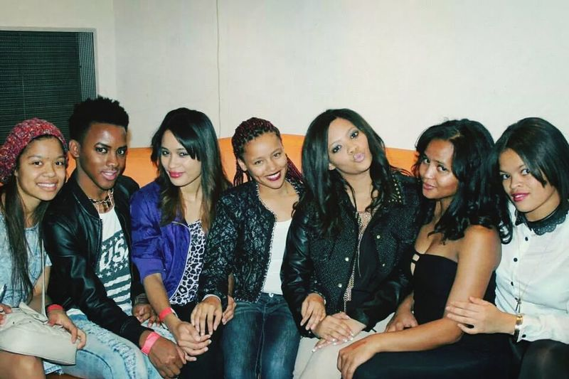 Backstage after my girl flo's show..awesome vibes with awesome people