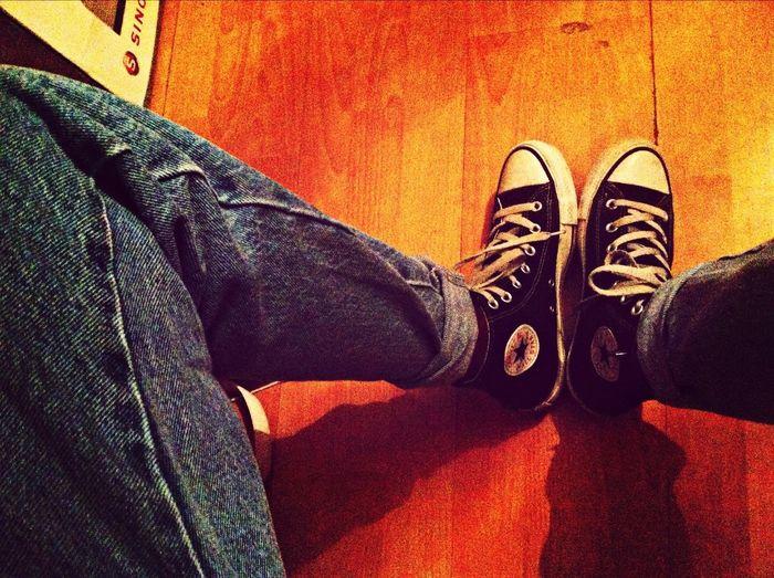 Blue Jeans Converse