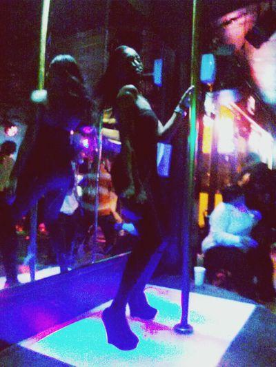 Last Night Pole Dancing