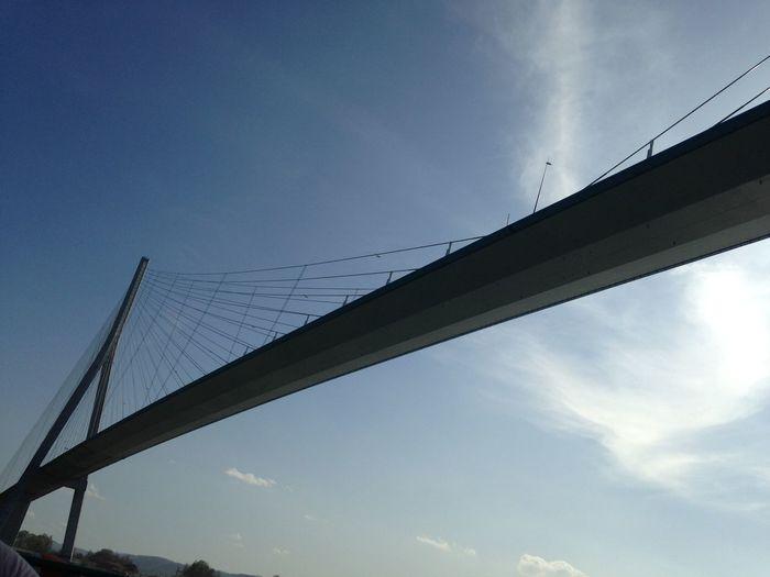Bridge Bridge - Man Made Structure Bridges France Honfleur Outdoors River Sky Sunshine