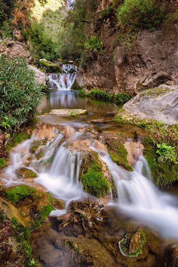 The Cascades d'Akchour in Morocco near Chefchaouen. The Cascades d'Akchour are a 45minute drive from Chefchaouen and they are in the Talassemtane National Park. Africa Akchour Cascade Cascades Cascades D'akchour Chefchaouen D'akchour Dakchour Forest Landmark Morocco National National Park Nature River Stream Talassemtane Water Waterfall Wilderness