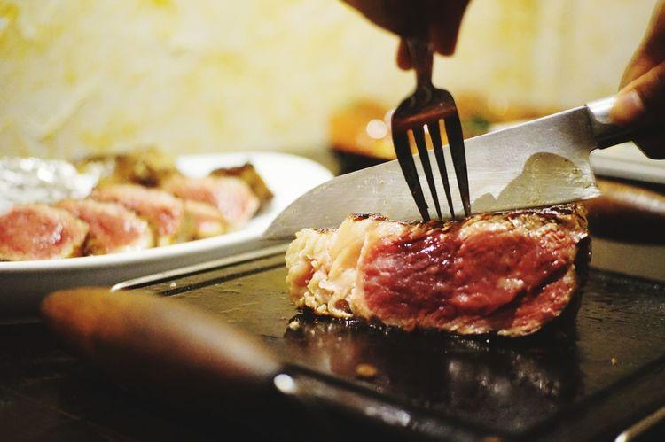 Food Steak Dinner Tomahawk Steak Medium Rare Meat! Meat! Meat! Meatlover