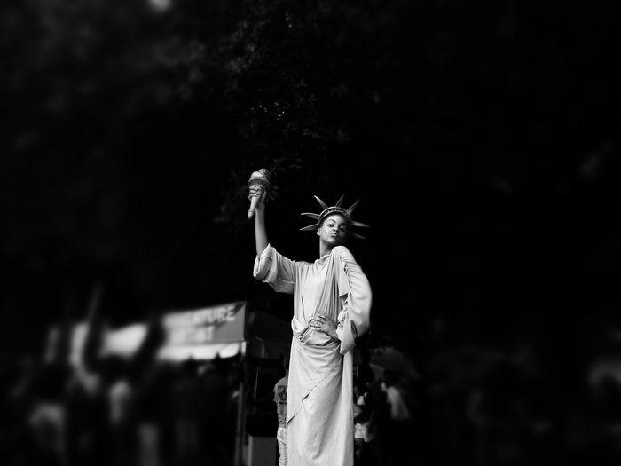 Lady Liberty. 4th Of July Street Photography Blackandwhite IPh0