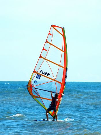 Windsurf Windsurfing Sport Sea Sports Sea Mare Onde Sportivo Wave Blue Water EyeEm Gallery EyeEm Best Shots EyeEm Best Edits Sports Photography Colorful Sea View Front View Capture The Moment Enjoing Life Board Tavola Equilibrium The Essence Of Summer Capturing Movement EyeEmNewHere