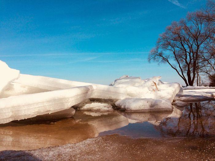 Минское море Scenics - Nature Winter No People Ice Landscape Outdoors