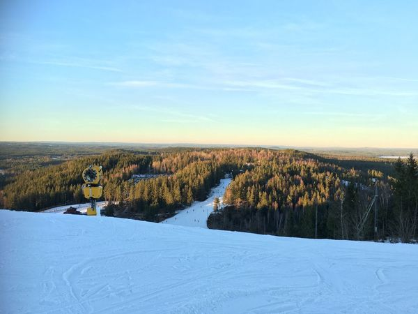 Skiing in Sweden. Snow Winter Cold Temperature Nature Beauty In Nature Sky Skiing Sweden Tree Big Mountain Beutiful  View Skiing 🎿 Mr. PK