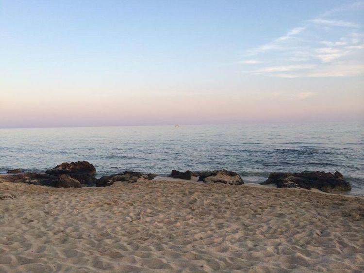 What Does Peace Look Like To You? Beach Puglia Italia