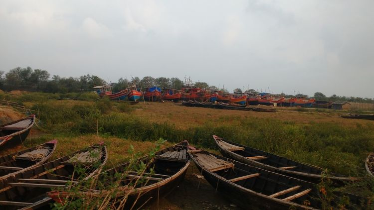 Indian Boat, at way to digha