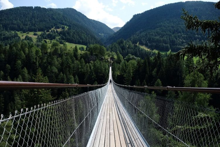 Rope Bridge The Way Forward Bridge - Man Made Structure Tree Railing Scenics Connection Forest Beauty In Nature Outdoors Tranquil Scene Growth Travel Destinations Footbridge Mountain Nature Suspension Bridge River Day No People The Week On EyeEm Your Ticket To Europe EyeEmNewHere Switzerland Be. Ready. The Great Outdoors - 2018 EyeEm Awards
