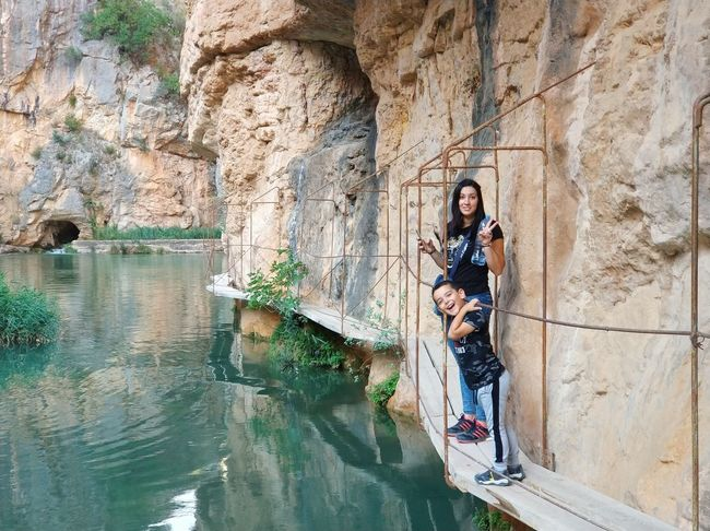 Cueva Rio Turia Full Length One Person Young Adult Day Young Women Standing Outdoors Adult Lifestyles Portrait Women People One Woman Only Wireless Technology Adults Only Water Architecture Only Women Nature One Young Woman Only EyEmNewHere
