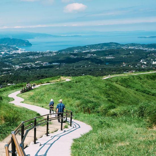 大室山 伊豆高原 Landscape Mountain View Nature Travel Photography Nature Explorer Vista FUJIFILM X-T1