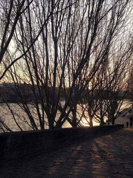 Going down to the River Seine Paris ❤ By Cathy Badi