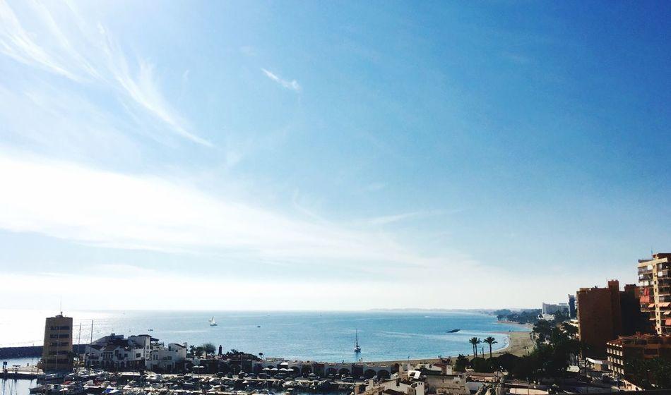 Home, sweet Home SPAIN Almería A Sky Blue Cityscape Aguadulce Port