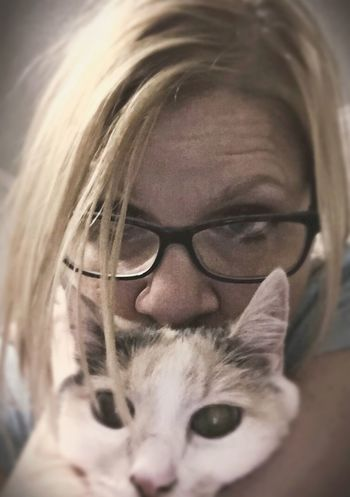 Me And My LiliBug Yes, Another LiliBug Pic Geeky Glasses (; MyLilibug 💝🐱