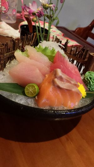 Sasimi 生魚片 海產 海鮮 Eat