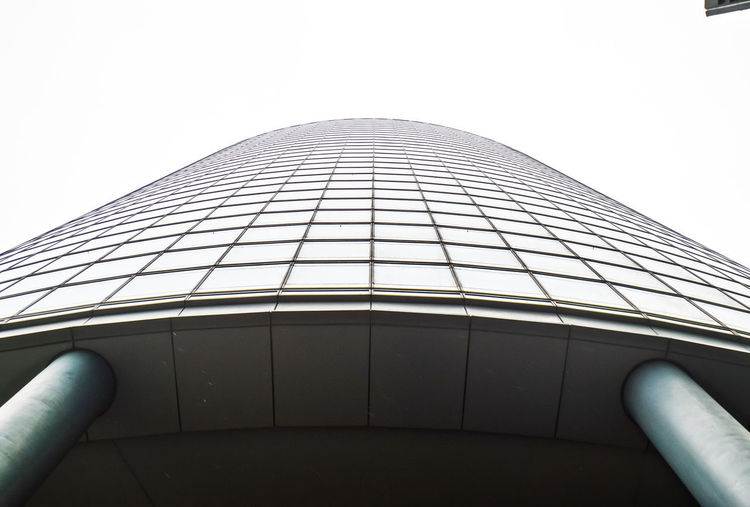 up to the sky Outdoors Streetphotography Street Paris La Défense Travel Destinations Travel Lookingup Perspective Building Exterior Built Structure Building Repetition Repetitive Pattern Pattern, Texture, Shape And Form Architecture Architectural Column Architecture_collection Architectural Feature Architectural Detail Glass Glass - Material Mood Moody Sky Moody Grey Sky Gray Sky Contrast Focus On Foreground Focus Low Angle View Clear Sky Nature No People Day Tall - High Modern City Office Office Building Exterior Tourism Tower Design Skyscraper Directly Below Skyscrapers La Defense Paris Man Made My Best Photo The Architect - 2019 EyeEm Awards