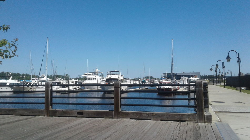 Harbor Beach Blue Outdoors Day No People Water Sea Nautical Vessel Sky Clear Sky