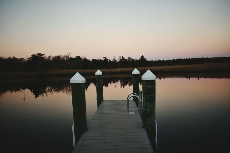 Reflection Sunset Water Nature Beauty In Nature Sky In A Row Tranquility Day No People Outdoors Beautiful Christmas EyeEm New Jersey Taking Photos EyeEmBestPics Popular Photographs
