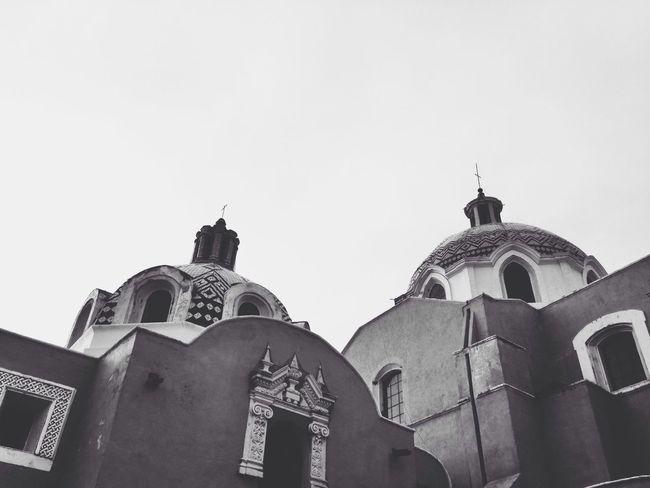 Tlaxcala Arquitectura Arquitecturamexicana Mexico Blac&white  Cielo
