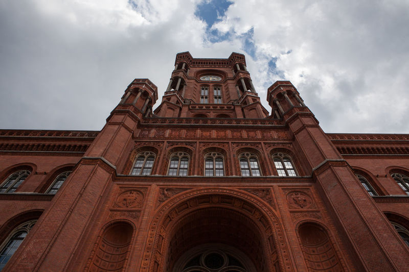 City Hall Historical Building Rotes Rathaus Berlin Architecture Building Exterior Built Structure Cloud - Sky Discover Berlin Travel Destinations